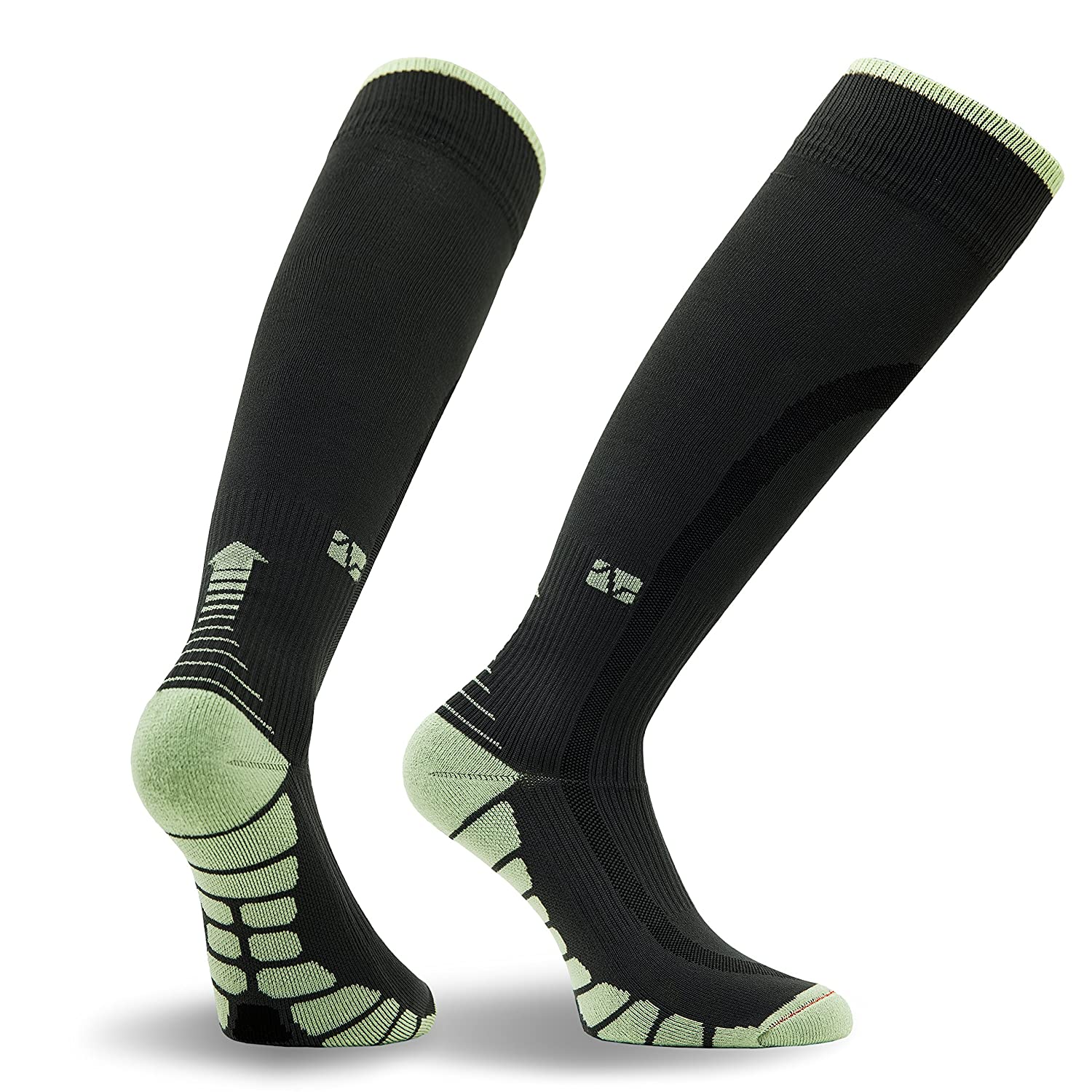 VT1211  Patented Graduated Compression Socks Carbon Series Vitalsox Italy One Pair VT1211-P
