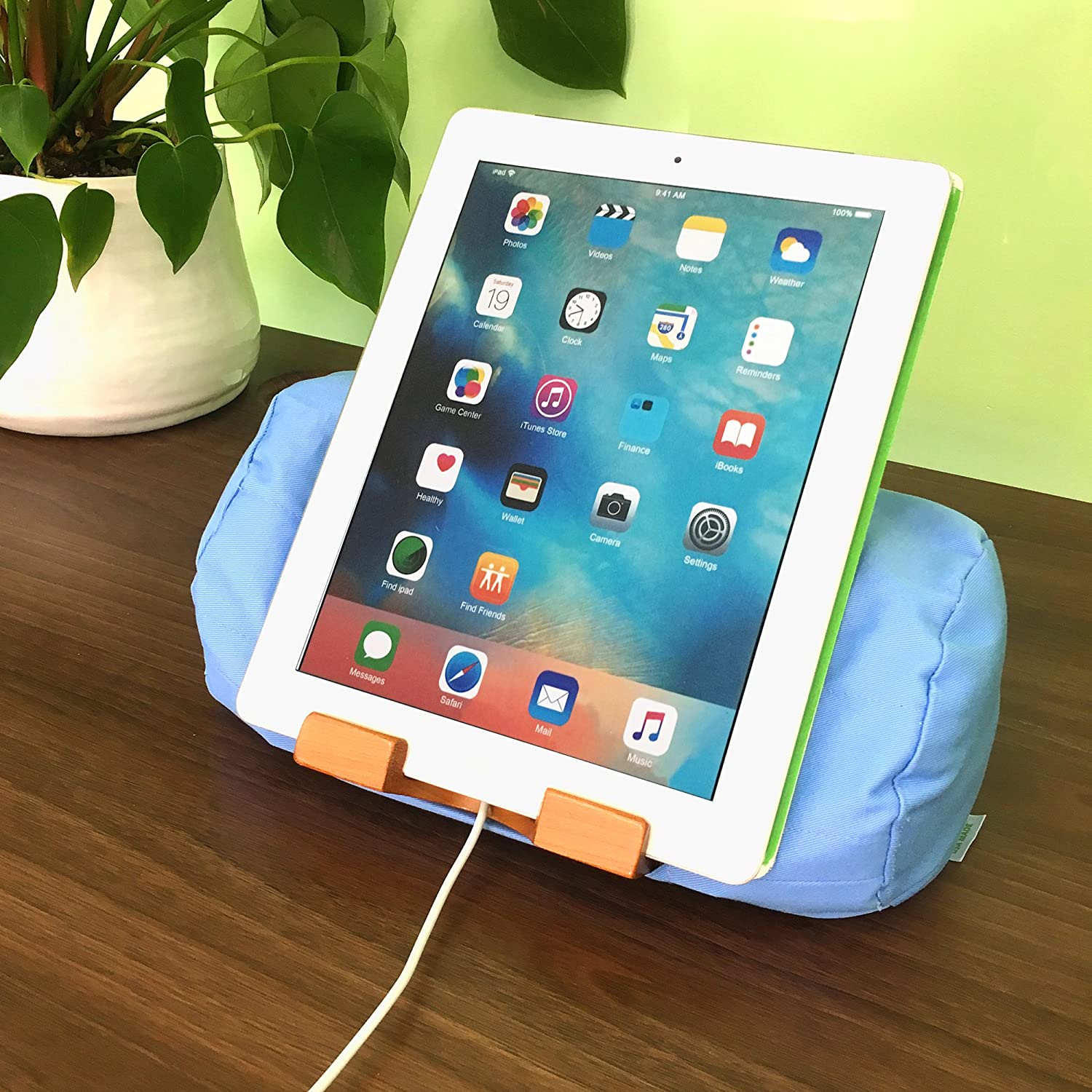 lap log ipad pillow stand eco friendly tablet stand