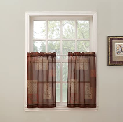 S Lichtenberg Co Inc No 918 Eden Kitchen Tier Curtains 56quot