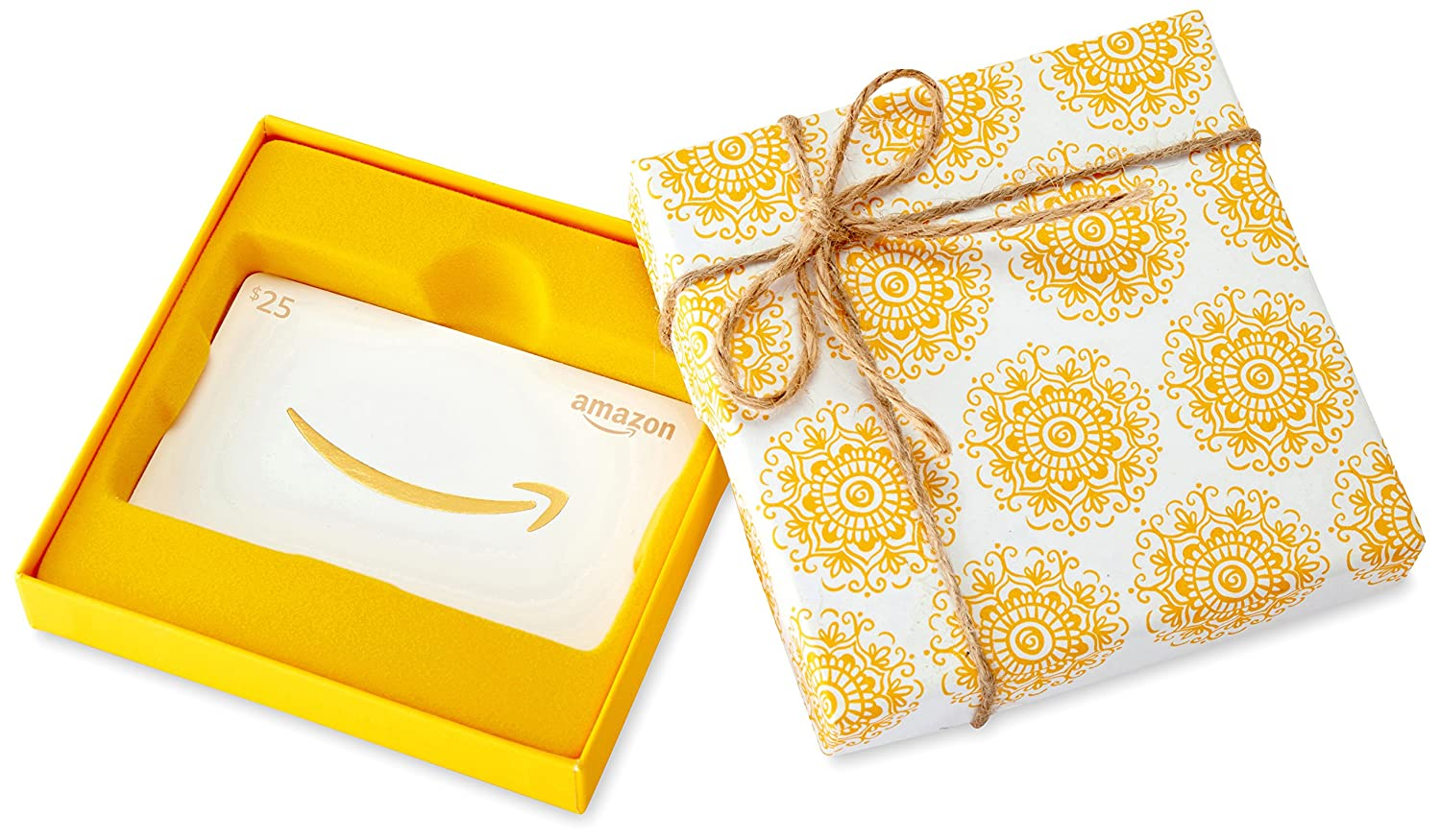 Amazon.ca Gift Card in a Medallion Box Amazon.com.ca Inc. Fixed