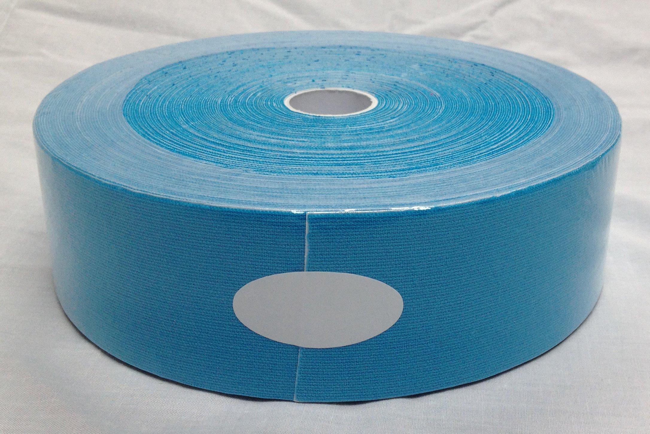 Therapist's Choice® Kinesiology Tape Bulk Roll (2-Inch x 105-Feet) (Blue)