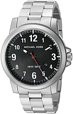 Amazon.com  Michael Kors Men s MK8500 Paxton Analog Japanese quartz ... e42fc81c96