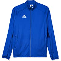 adidas Australia Kids Condivo 18 Training Jacket, Bold Blue/Dark Blue/White, 164