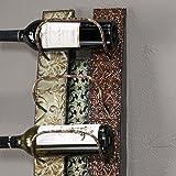 SEI Southern Enterprises Adriano 6 Wine Bottle Wall