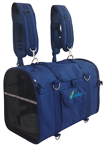 595e3f34d3 Amazon.com : 6-in-1 STURDY Pet Carrier Backpack, Front Pack ...