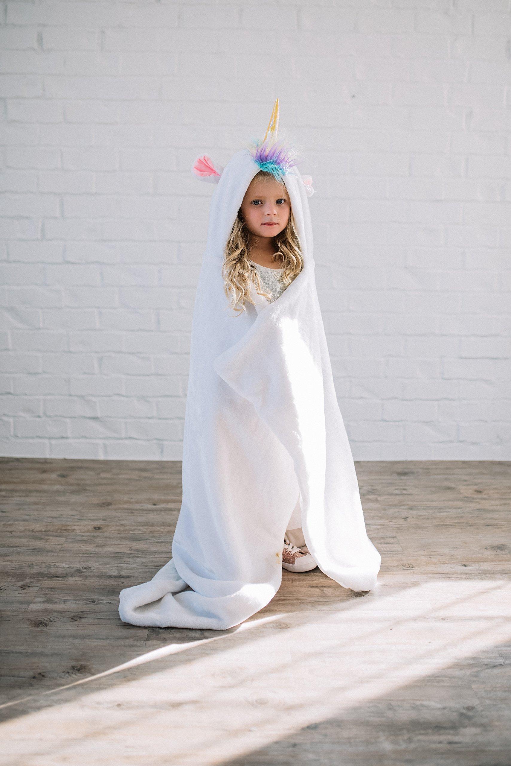 JaceyLane - Unicorn Blanket | Comfortable Soft Mink Fabric Blanket| by JaceyLane (Image #2)