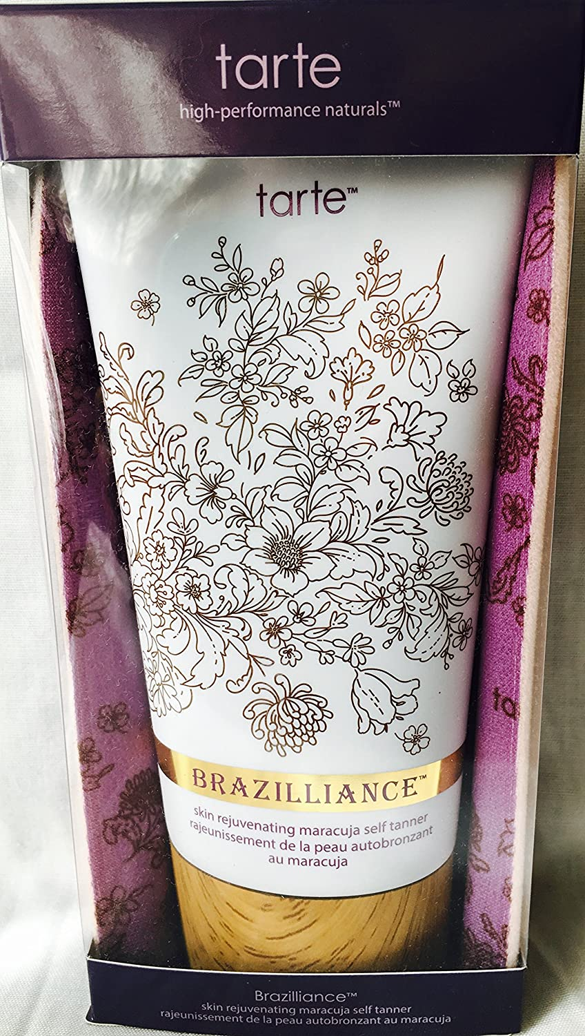 Tarte Brazilliance Maracuja self tanner with mitt 5.5 oz NA