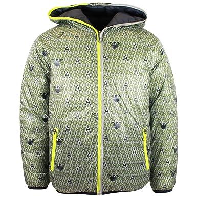 06b6ff8a6cd2 Armani Junior Reversible Jacket Grey   Green 8Y  Armani Junior ...