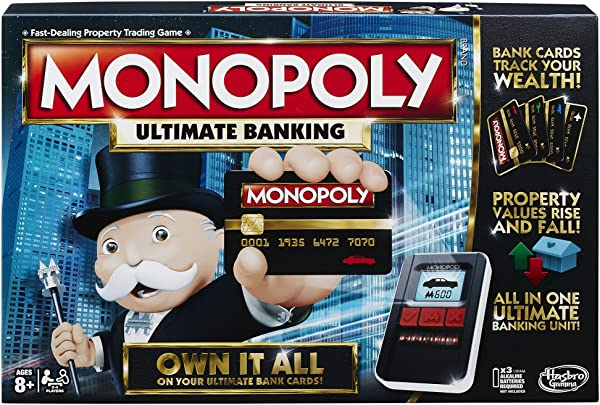 Monopoly Ultimate Banking in package