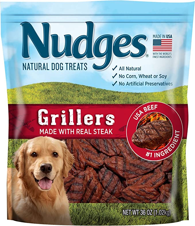 Nudges Grillers - Natural Dog Treats