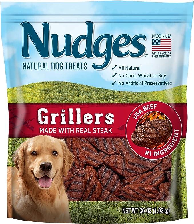 Nudges Grillers - Natural Dog Treats