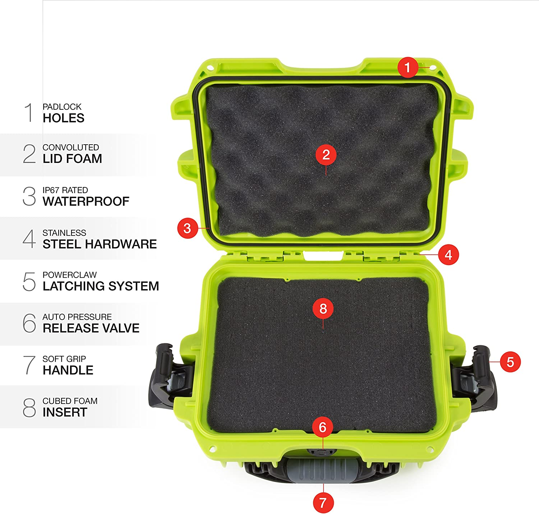 Nanuk 905 Waterproof Hard Case Empty Graphite
