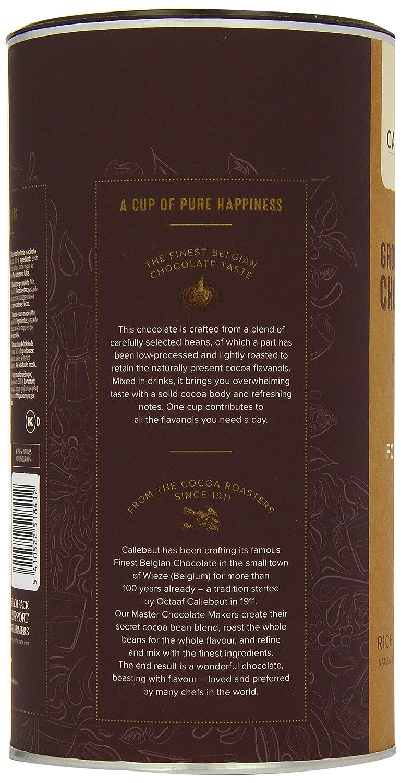 Callebaut Hot Chocolate with Dark Chocolate/Belgian Chocolate, 1 ...
