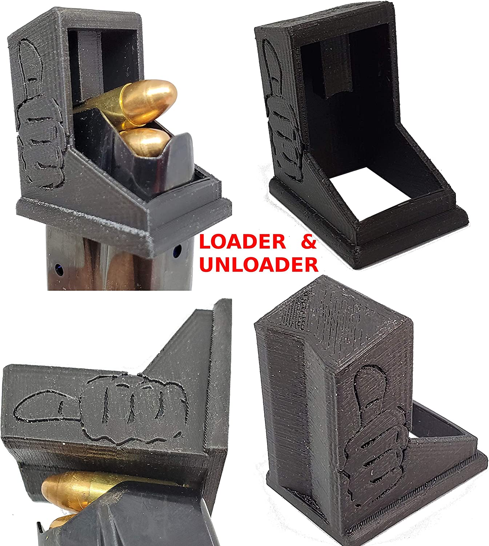 Taurus PT111 /& Millennium Pro G2 9mm Speed loader Magazine Loader Gray
