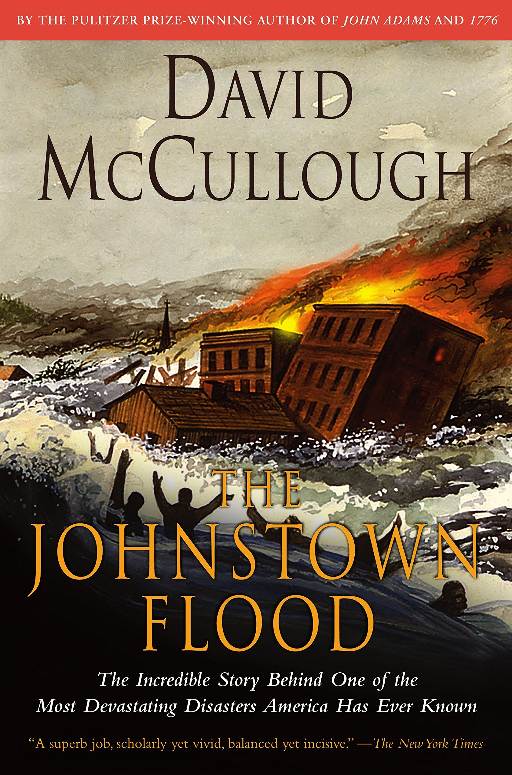 The Johnstown Flood: David Mccullough: 9780671207144: Amazon: Books