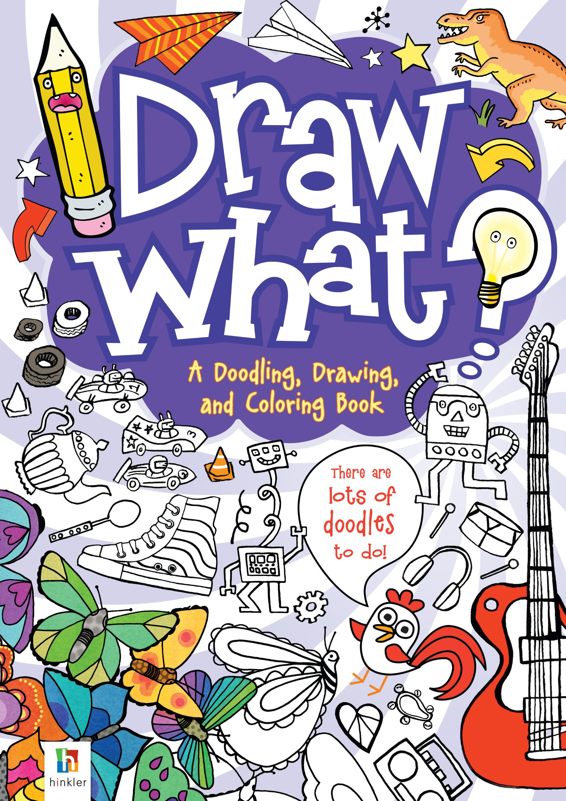 Read Online Draw What! A Doodling, Drawing and Colouring Book ebook