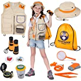 Kids Explorer Kit | Premium Kids Camping Toys and Outdoor Adventure Kits for Boys and Girls, 3-12 Years Old | Backyard Safari
