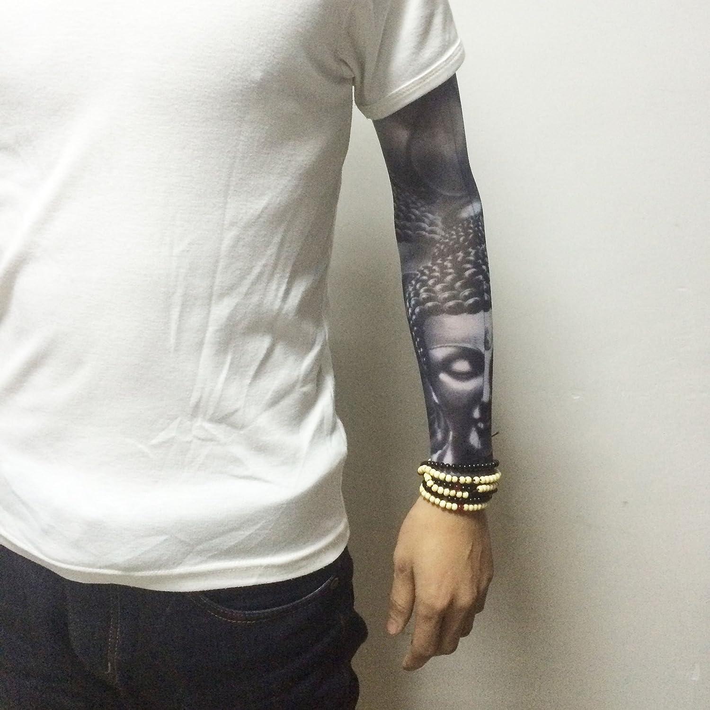 Manga de tatuaje sin costuras para el aire libre, sol, para ...