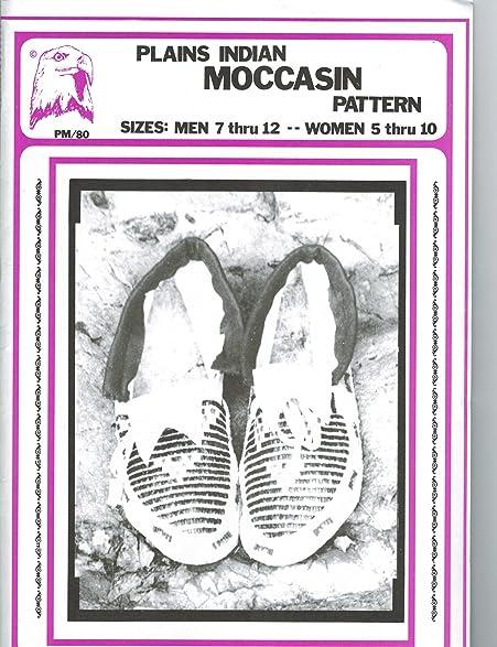 Amazon Eagles View Patterns Plains Indian Moccasins Pattern