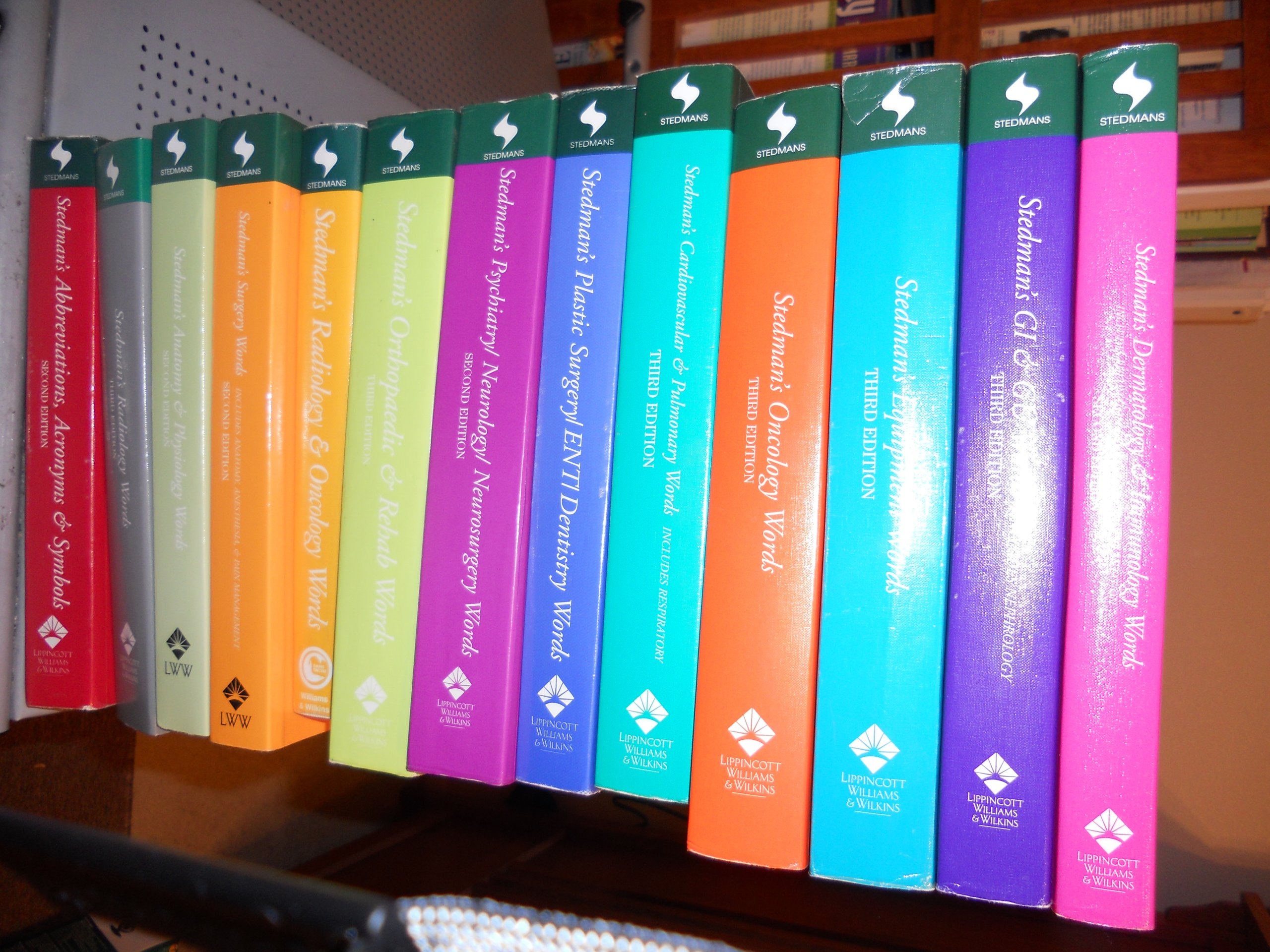 Stedmans Word Set Of 13 Stedmans Amazon Books