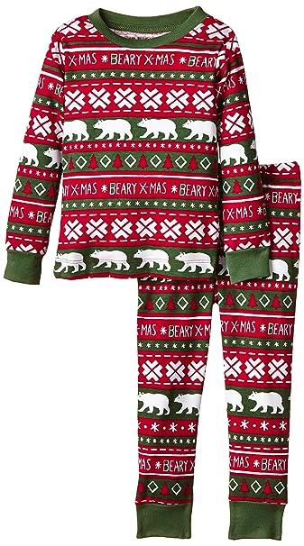 Hatley Kids Pj Set - Beary Xmas-Pijama Niñas,