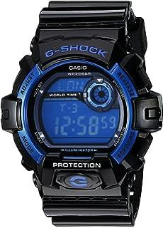 Casio Men s G8900A-1CR G-Shock Black and Blue Resin Digital Sport Watch 9f6ef859565f6