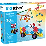 K'NEX Kid Zoomin Rides & up Preschool Educational Building Set (Pieces 65)