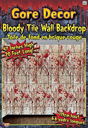 Bloody Tile Wall Roll