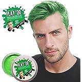 Play 'Do Temporary Hair Color, Hair Wax, Hair Clay, Mens Grooming, Pomade, Green hair dye(1.8 ounces) …