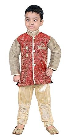 7863a1c82 FTC Bazar Boys Festive & Party Kurta and Pyjama Set (Multicolor) (, 2