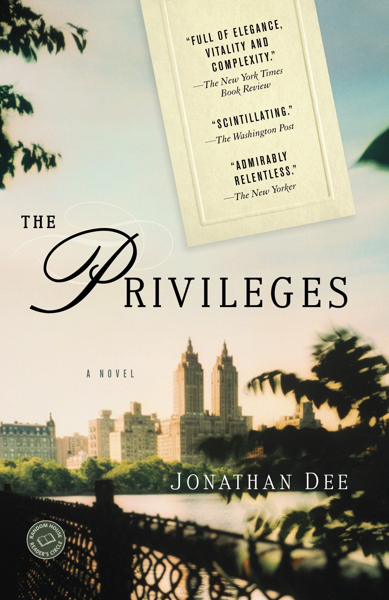 The Privileges A Novel Random House Readeru0027s