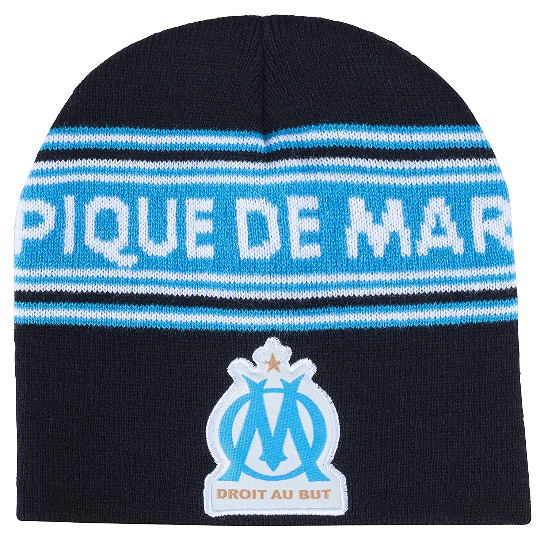 OLYMPIQUE DE MARSEILLE Coffret Echarpe Collection Officielle Bonnet Om