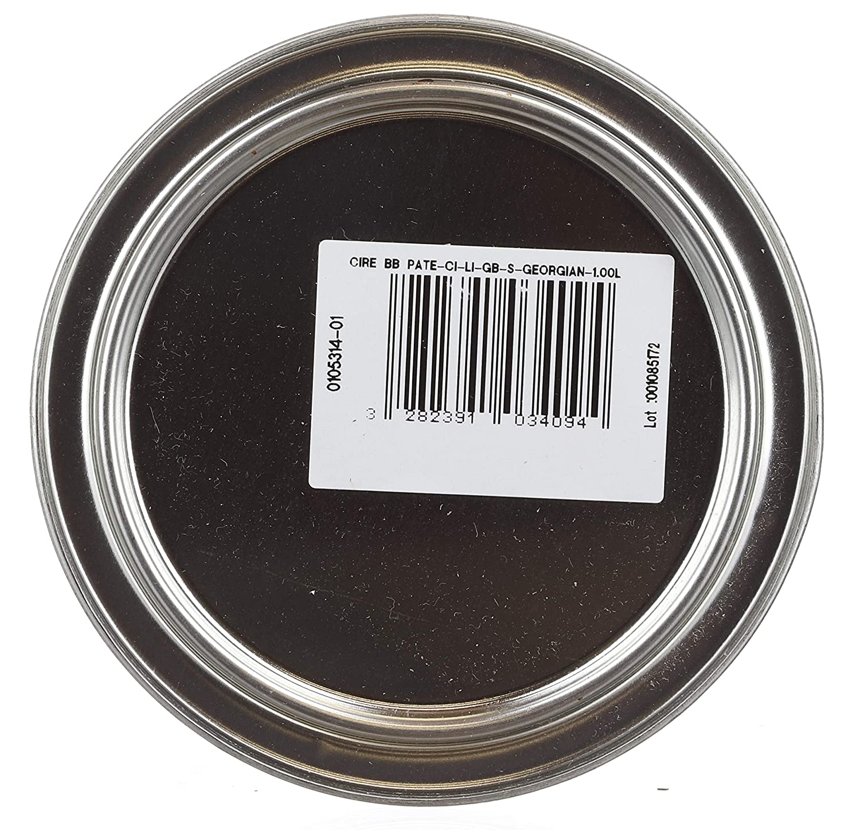 Liberon Black Bison Paste Wax Victorian Mahogany 500ml