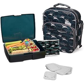 Amazon.com: Bentology - Bolsa de almuerzo y caja – Incluye ...