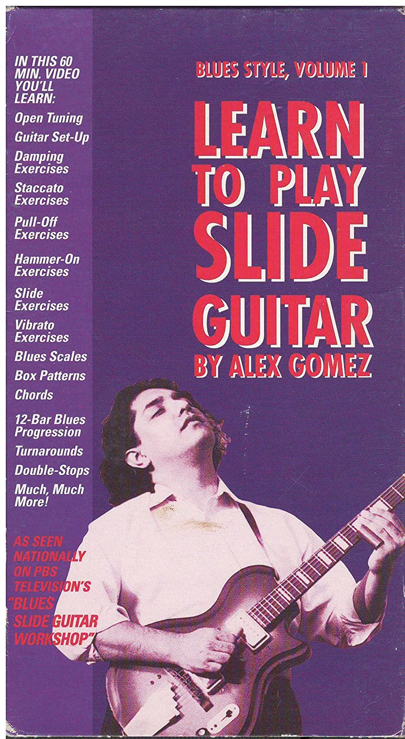 Amazon Learn To Play Slide Guitar Blues Style Volume 1 Alex