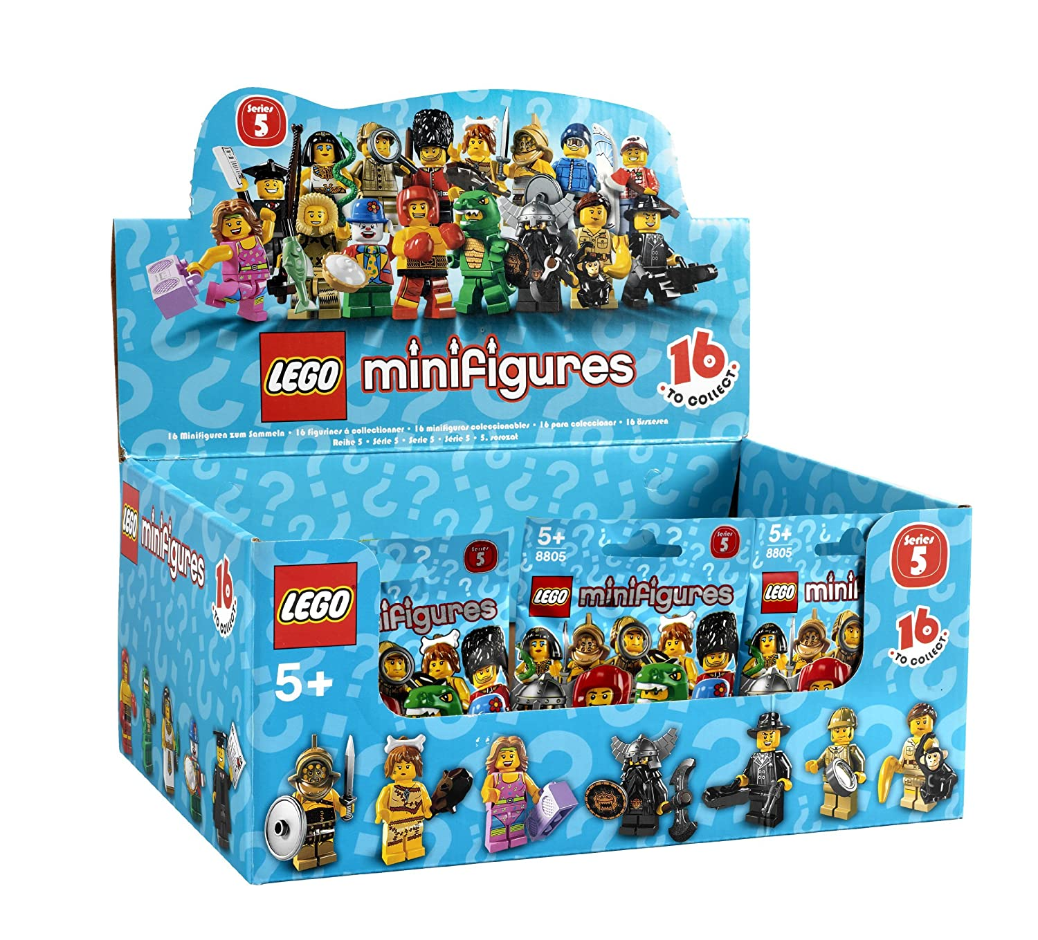 Lego Minifigures Series 5 EGYPTIAN QUEEN New Out of Package!