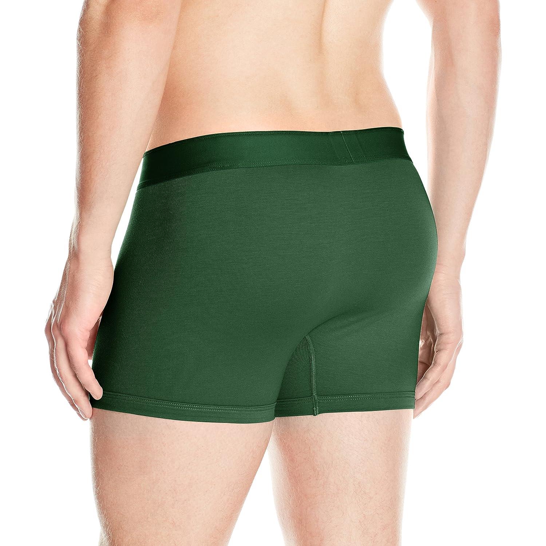 Lacoste Mens Cotton Pique Trunk Orange Small Lacoste Men/'s Underwear RAM5414