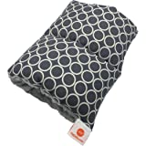 Pello Comfy Cradle - Slip-on Arm Pillow for Baby Nursing - Reversible, Adjustable, Washable, Durable, Majestic/ Gray