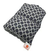 Pello Comfy Cradle - Slip-on Arm Pillow for Baby Nursing - Reversible, Adjustable, Washable, Durable, Majestic/Gray