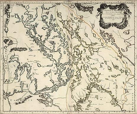 Amazon world atlas 1668 savolax and kexholm finland world atlas 1668 savolax and kexholm finland historic antique vintage map reprint gumiabroncs Choice Image
