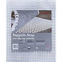 Teppich-Stop Antirutschmatte Teppichgleitschutz Teppichunterlage Haftgitter Rutschschutz, PVC beschichtetes Polyester, rutschhemmend zuschneidbar pflegeleicht strapazierfähig