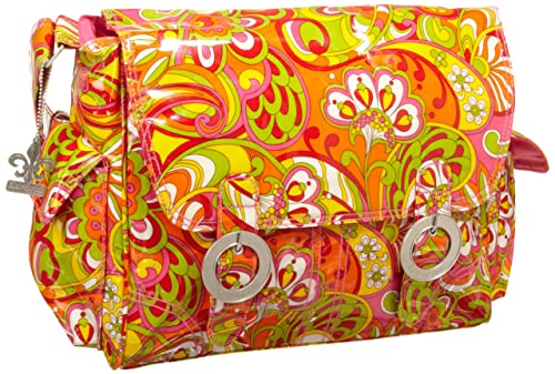 Kalencom Coated Double Buckle Bag, Ooh La La Sunny