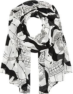 Womens F1179550 Modal Handkerchiefs, Multicoloured (Black 79A2), One Size Liebeskind