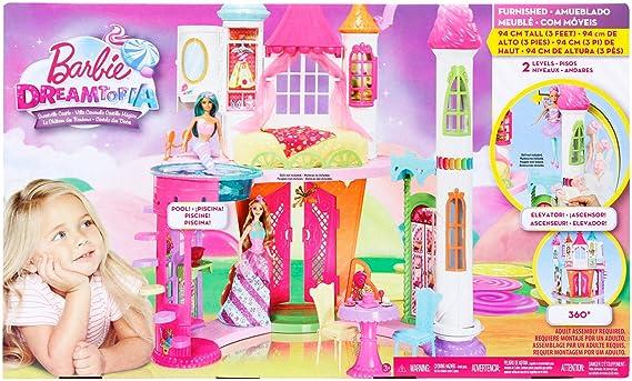 Letto A Castello Barbie.Barbie Castello Candito Dyx32 Case Giochi E Giocattoli