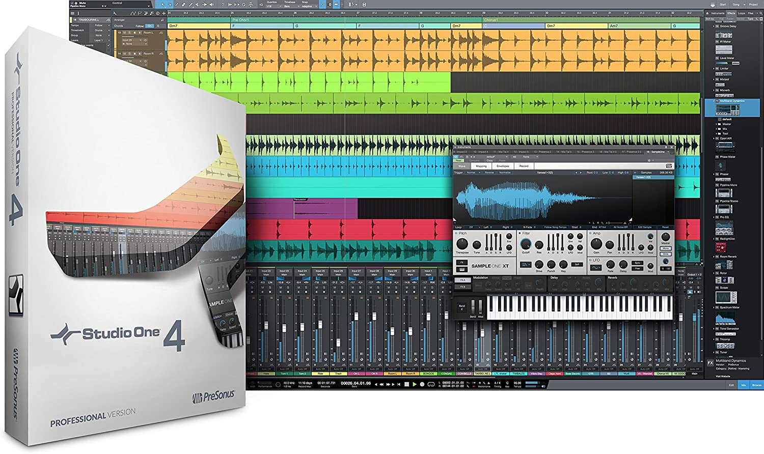 Presonus Studio One 4 Professional Upgrade from Professional//Producer all versi