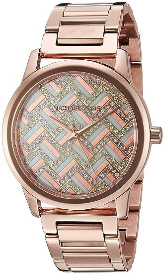 Michael Kors Mujer Hartman Rose Gold-Tone Reloj mk3592