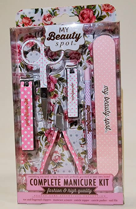 5eb5fcbe0c1 Image Unavailable. Image not available for. Color  Complete Manicure Kit MY  BEAUTY SPOT ...