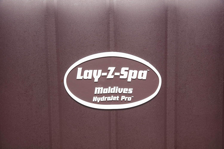 Bestway Lay-Z-Spa Maldives HydroJet Pro braun 201 x 201 x 80 cm