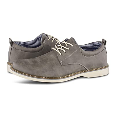 Members Only Men's Plain Toe Oxford Classic Business Casual Shoes   Oxfords