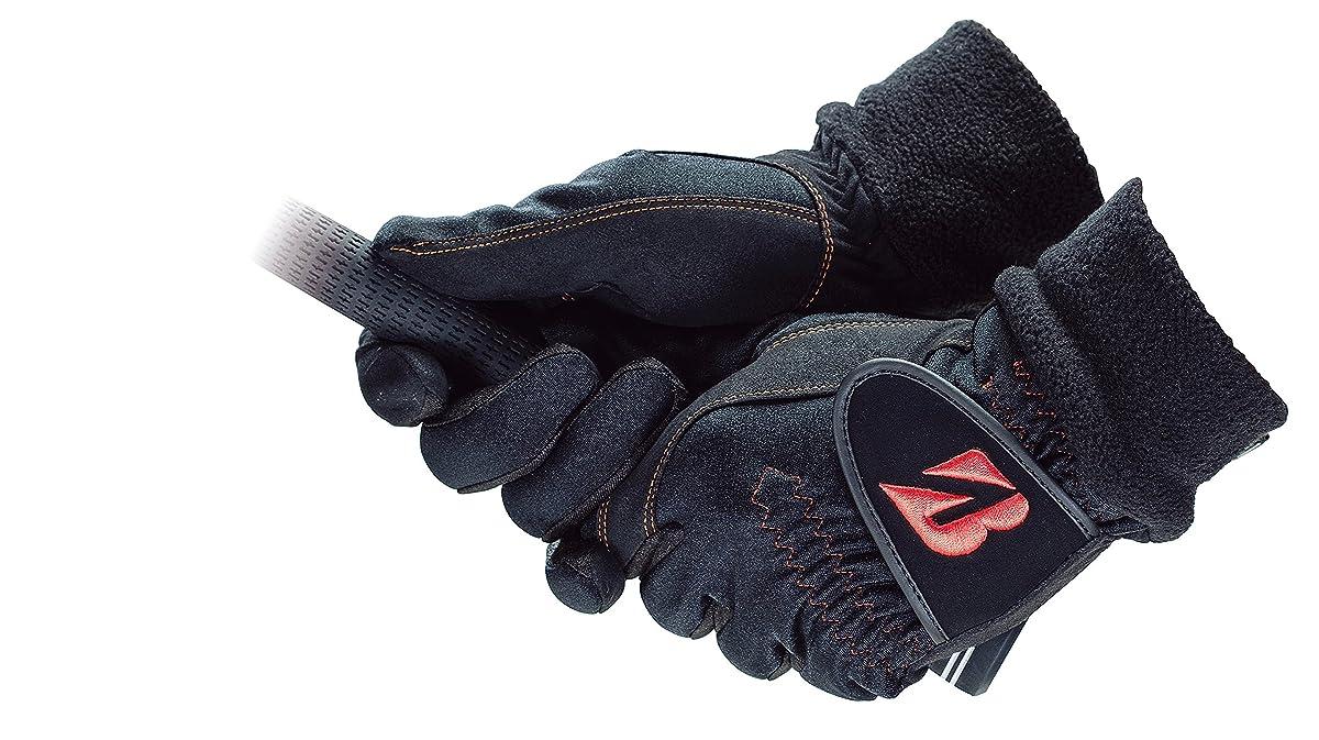 [해외] BRIDGESTONE(브리지스톤) 골프 글러브 브리지스톤 골프 글러브 WARM GRIP 맨즈 GLG68J 양손 블랙 M